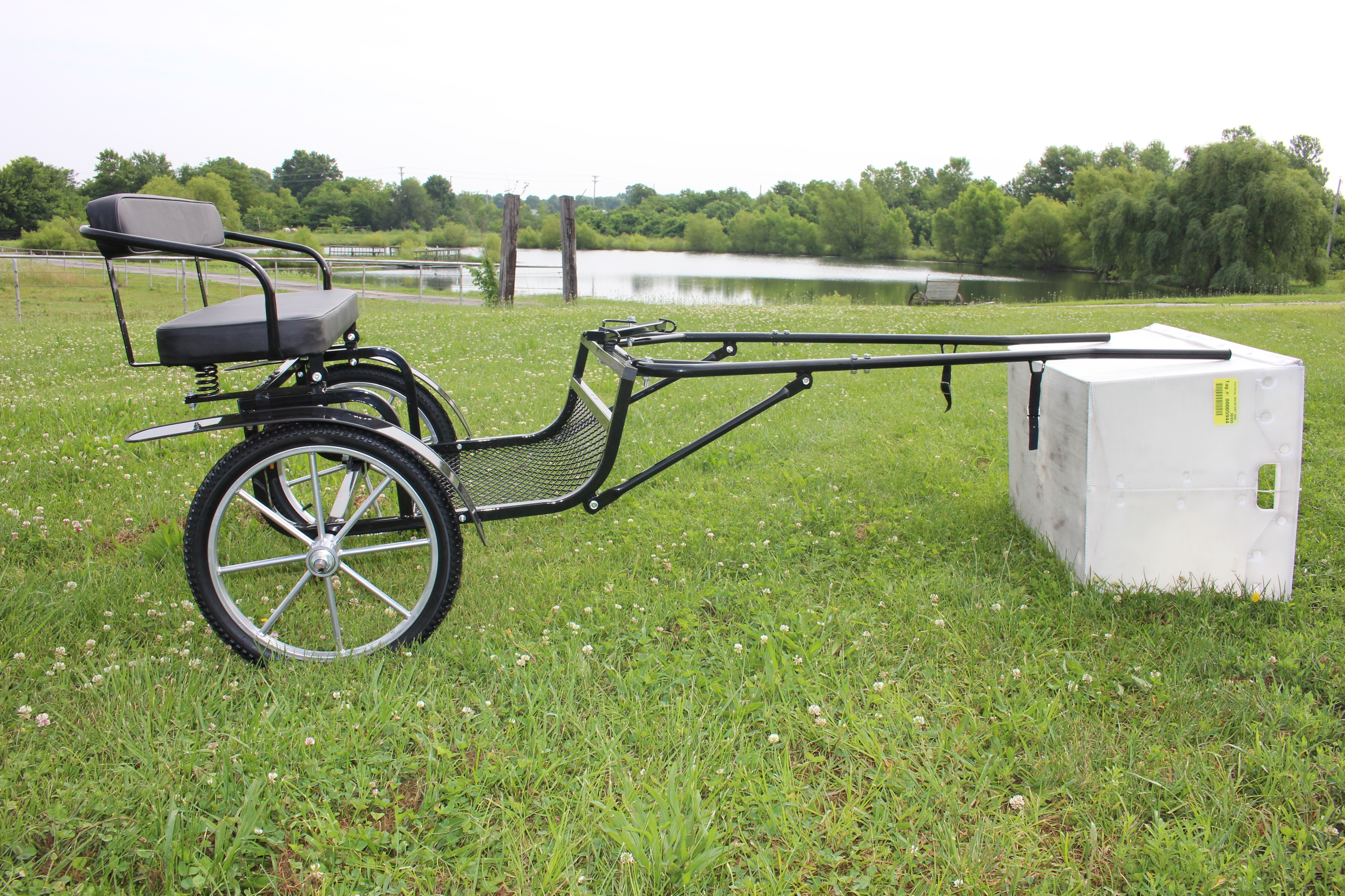 Mini Easy Entry Cart Horse Drawn Free Shipping Frontier