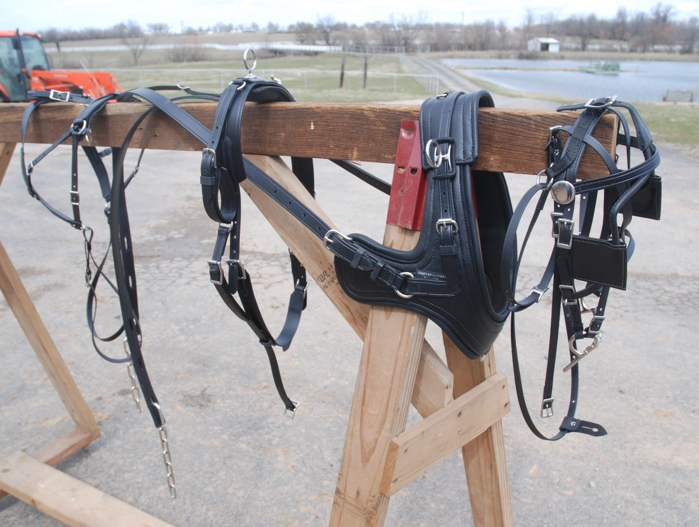 Sport Harness with Brollar collar mini – pony size | Frontier  Equestrian|Draft Horse Saddle|Horse Harness|Jasper MO